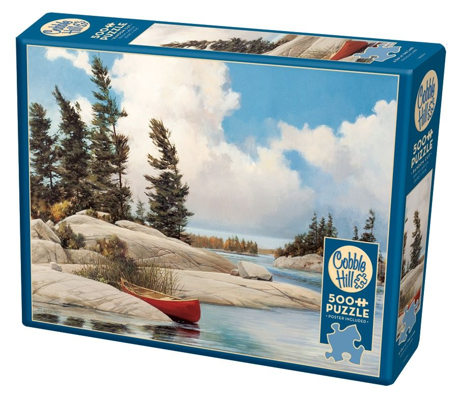 Cobble Hill Jigsaw Puzzle - 500pcs - A Day At The Lake