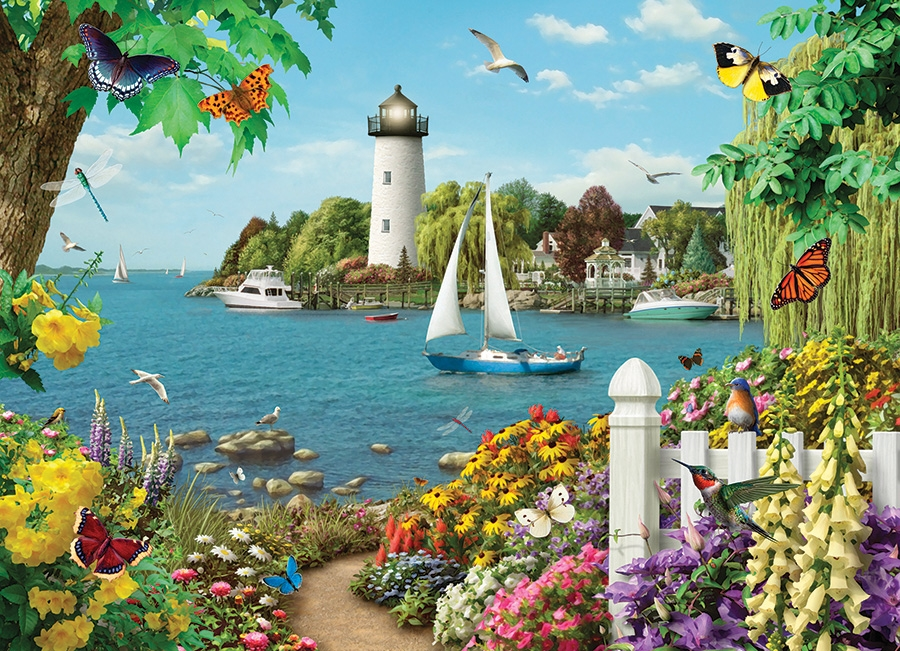Cobble Hill Jigsaw Puzzle - 500pcs - By The Bay