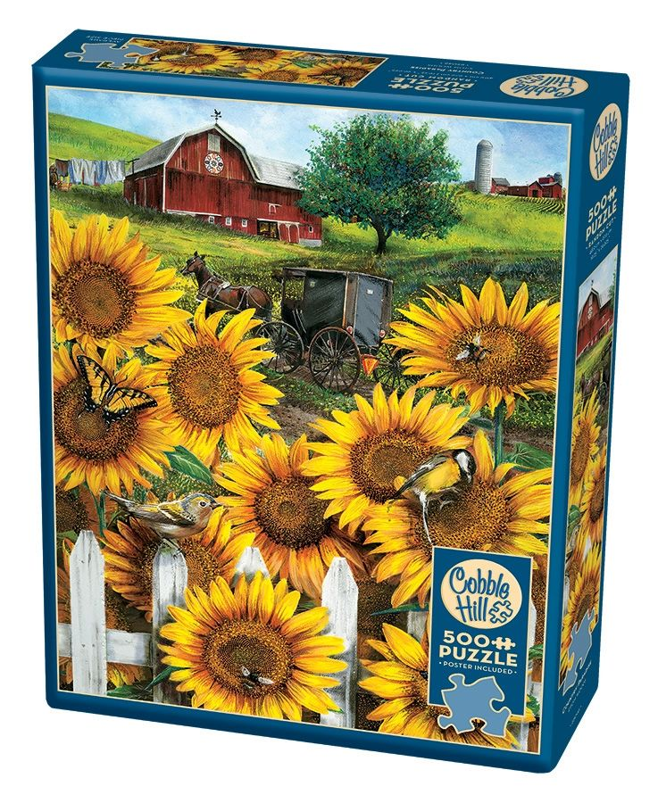 Cobble Hill Jigsaw Puzzle - 500pcs - Country Paradise