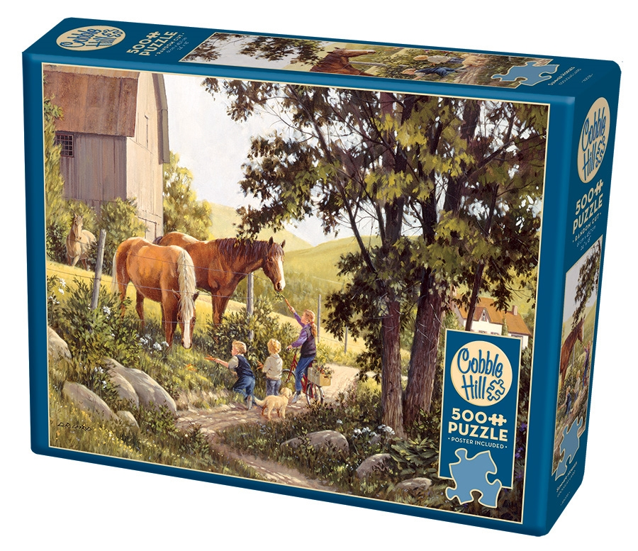 Cobble Hill Jigsaw Puzzle - 500pcs - Summer Horses