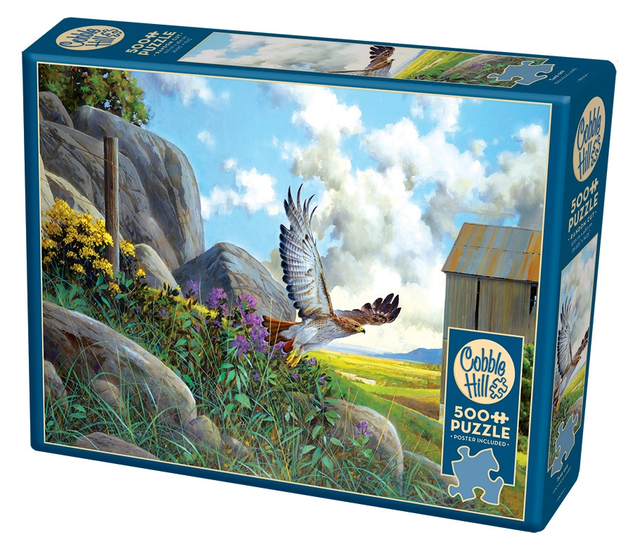 Cobble Hill Jigsaw Puzzle - 500pcs - Take Off Hawk