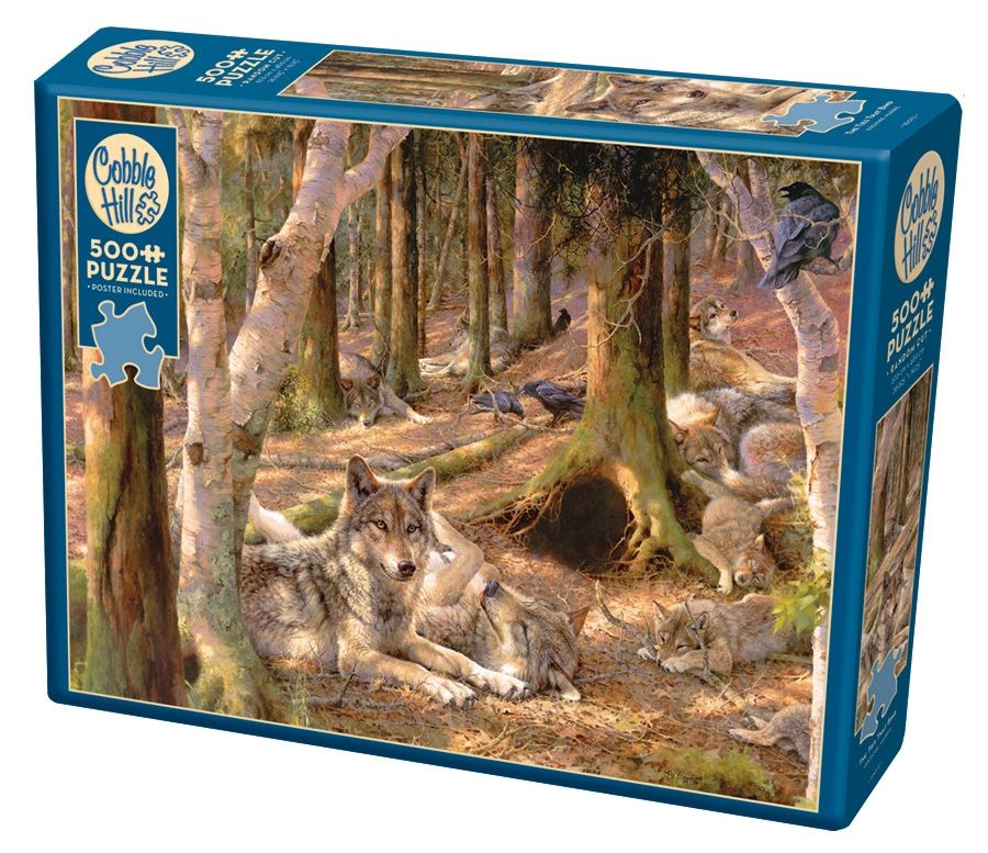 Cobble Hill Jigsaw Puzzle - 500pcs - The Ties That Bind