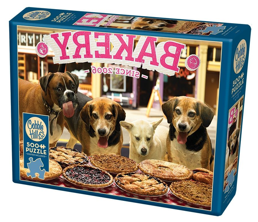 Cobble Hill Jigsaw Puzzle - 500pcs - Who Wants Pie