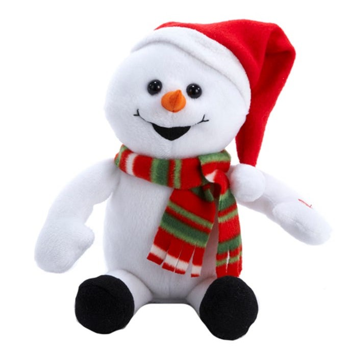 Plush Laughing and Farting Animated Snowman - 10in