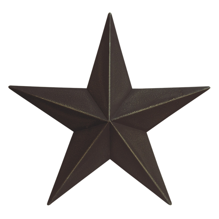 Decorative Metal Barn Star - Black - 24in
