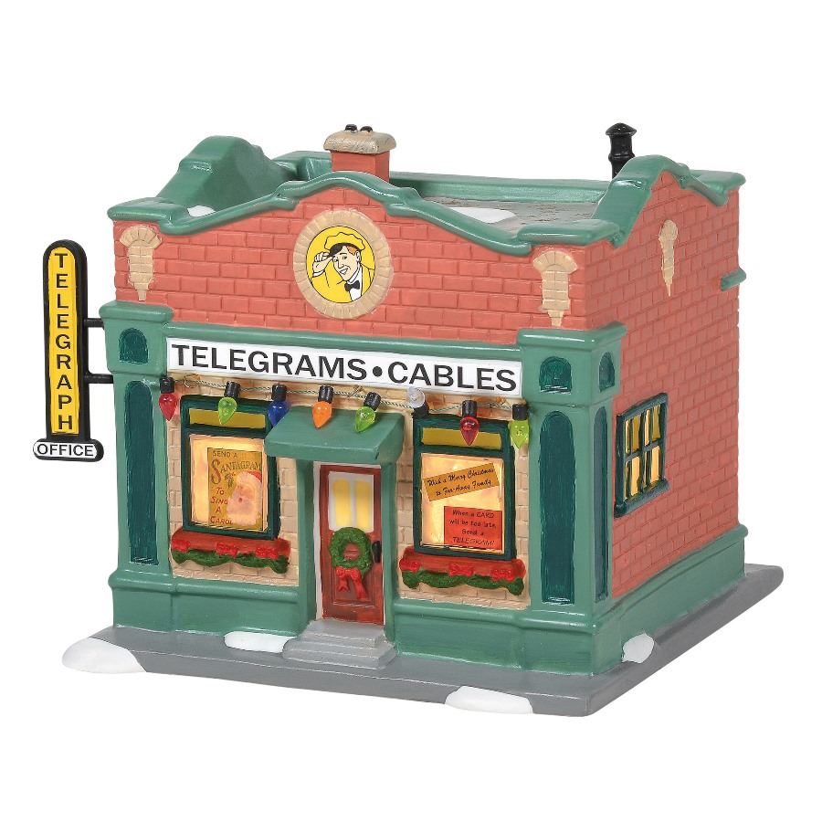 Department 56 A Christmas Story - Hohman Telegraph Office 2020