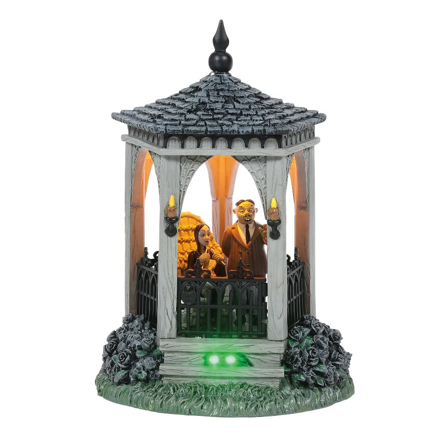 Department 56 Addams Family - Gazebo At Moonlight 2020