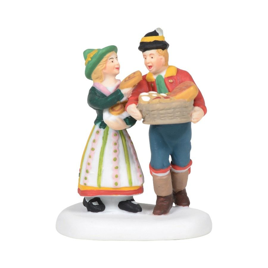 Department 56 Alpine Village Accessory - Sweets For My Sweet 2020