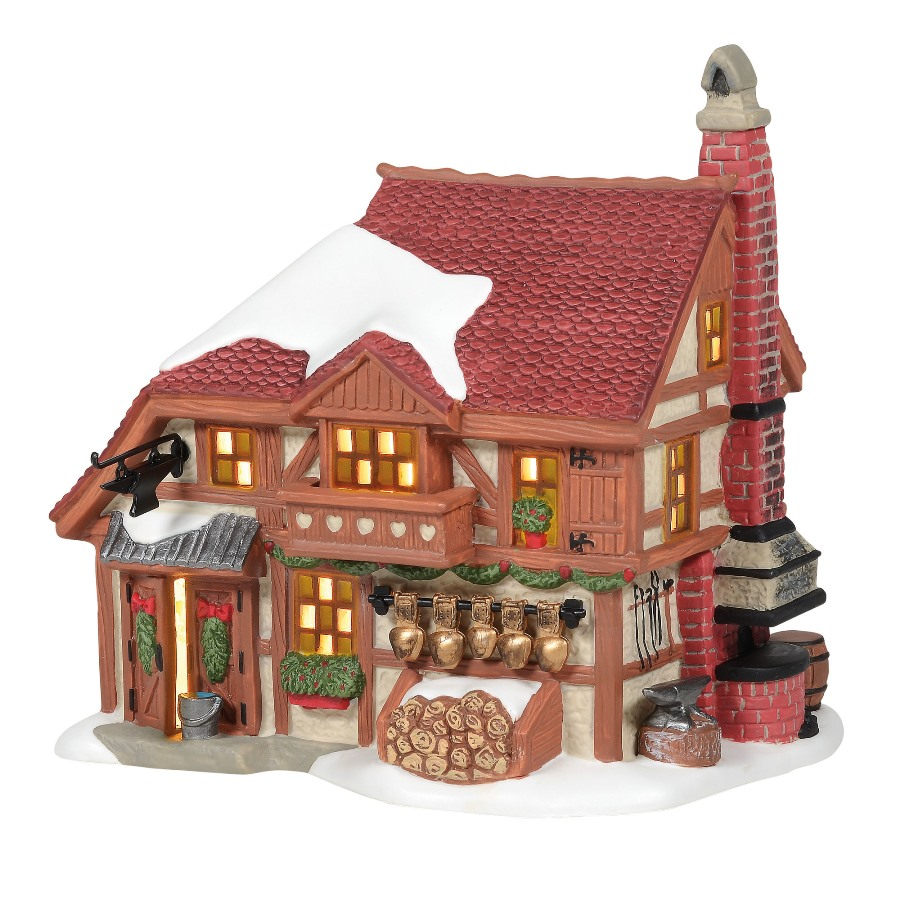 Department 56 Alpine Village - Alpine Cowbell Forge 2020