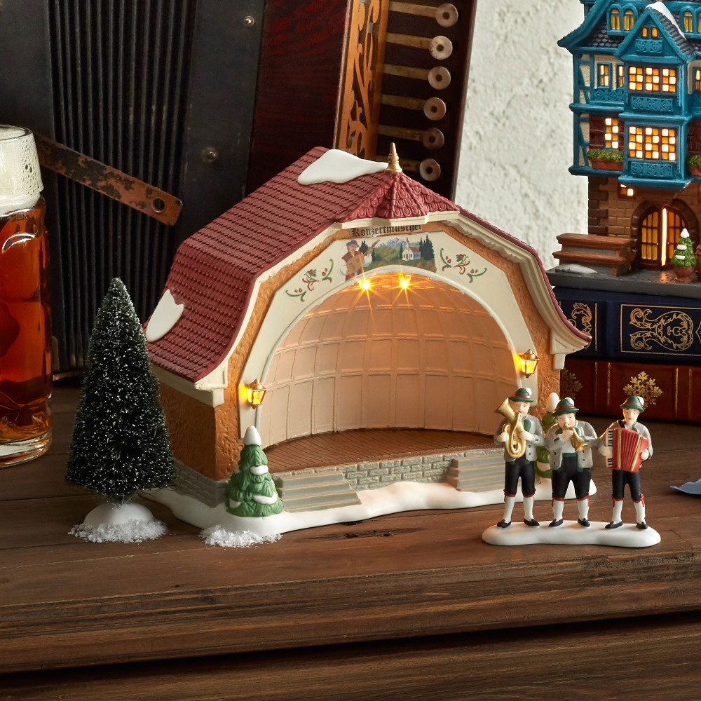 Department 56 Alpine Village - Bavarian Concert Hall 2019