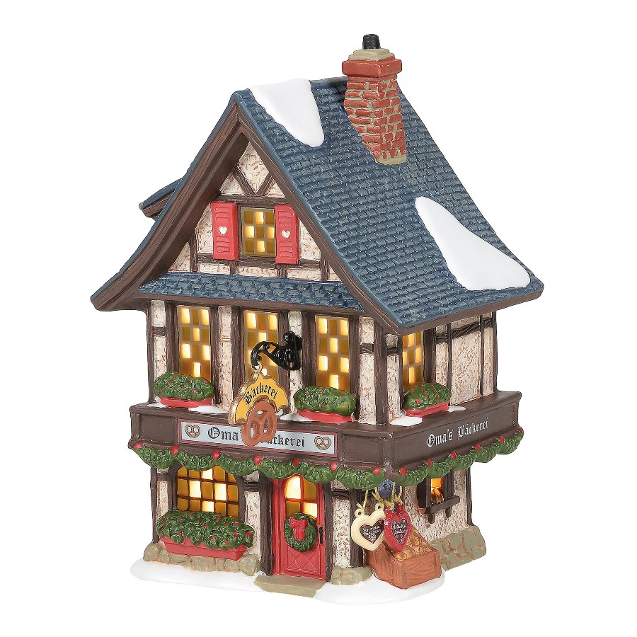 Department 56 Alpine Village - Omas Bakery 2020