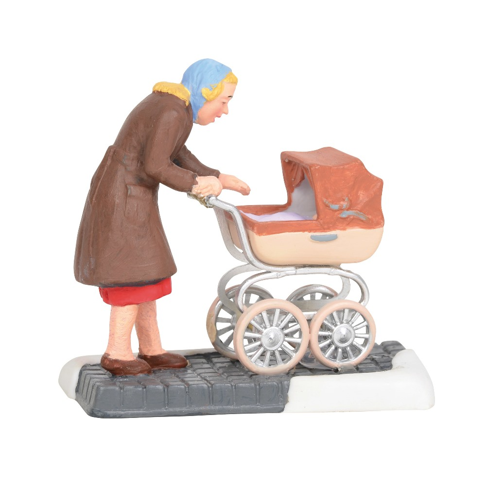 Department 56 Christmas in the City Accessory - Babys First Shopping Trip 2019