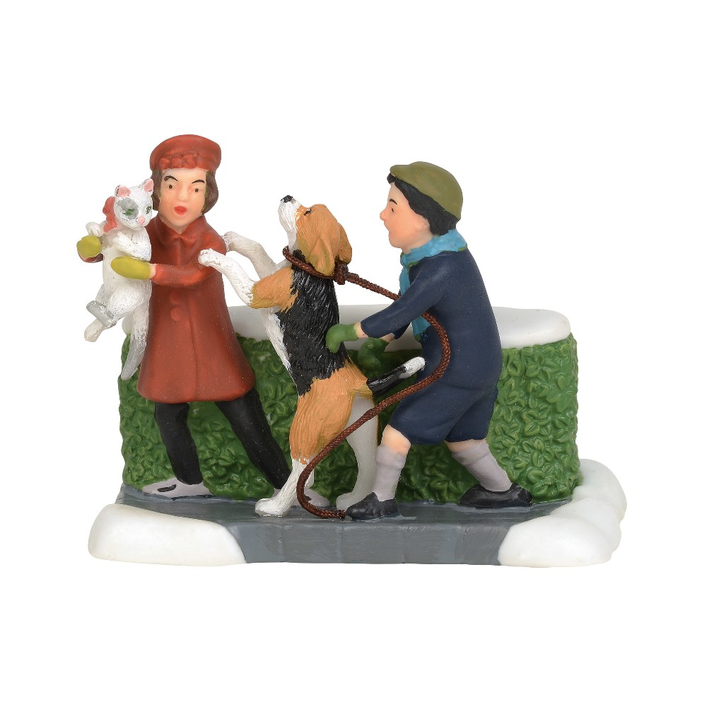Department 56 Christmas in the City Accessory - Christmas Tails 2019
