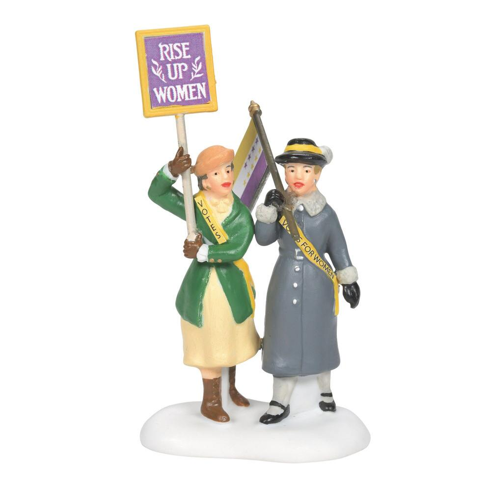 Department 56 Christmas in the City Accessory - Suffragettes 2021