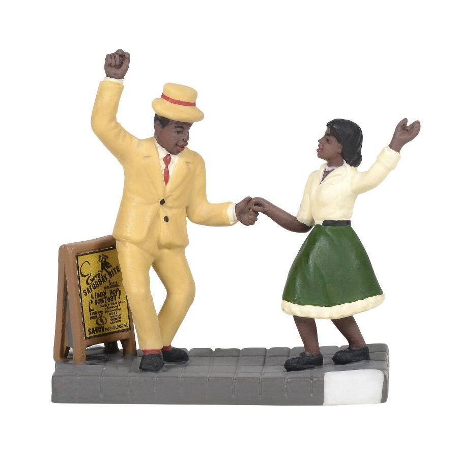 Department 56 Christmas in the City Accessory - The Lindy Hop 2020