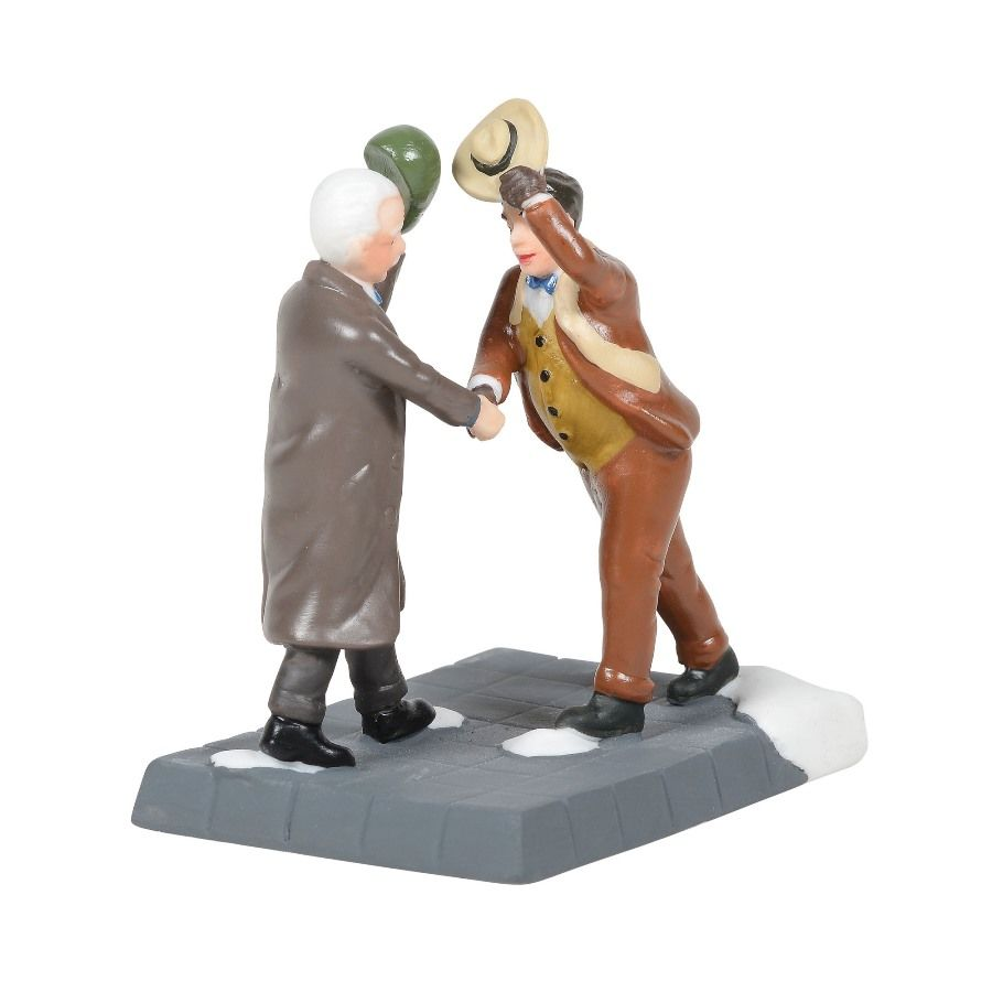 Department 56 Christmas in the City Accessory - Tip O The Hats 2020