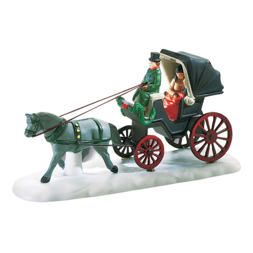 Department 56 Christmas in the City Accessory - Central Park Carriage 1989