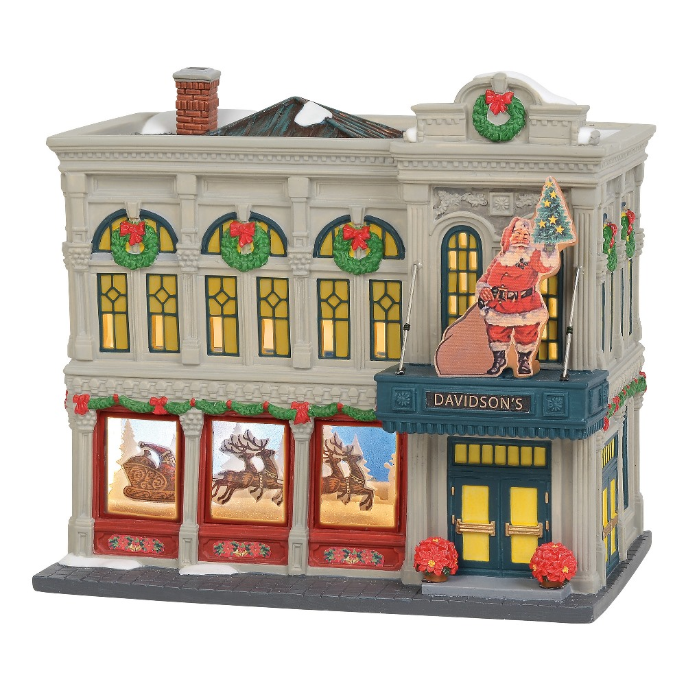 Department 56 Christmas in the City - Davidson's Department Store 2019
