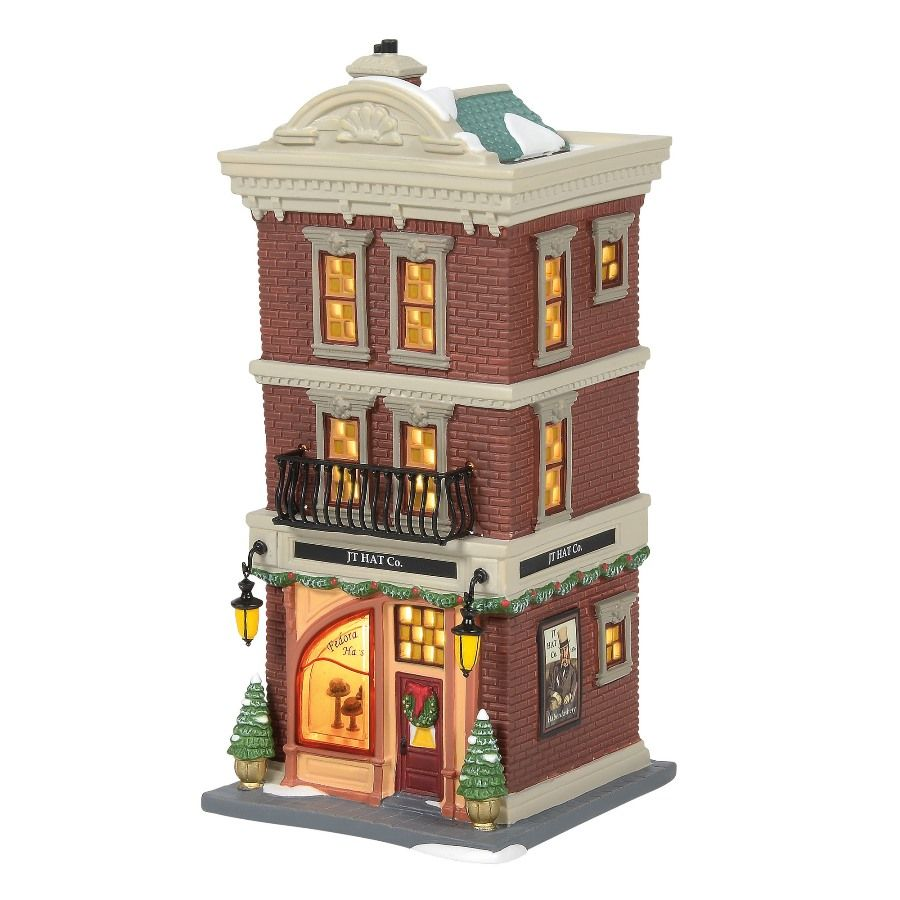 Department 56 Christmas in the City - JT Hat Co 2020