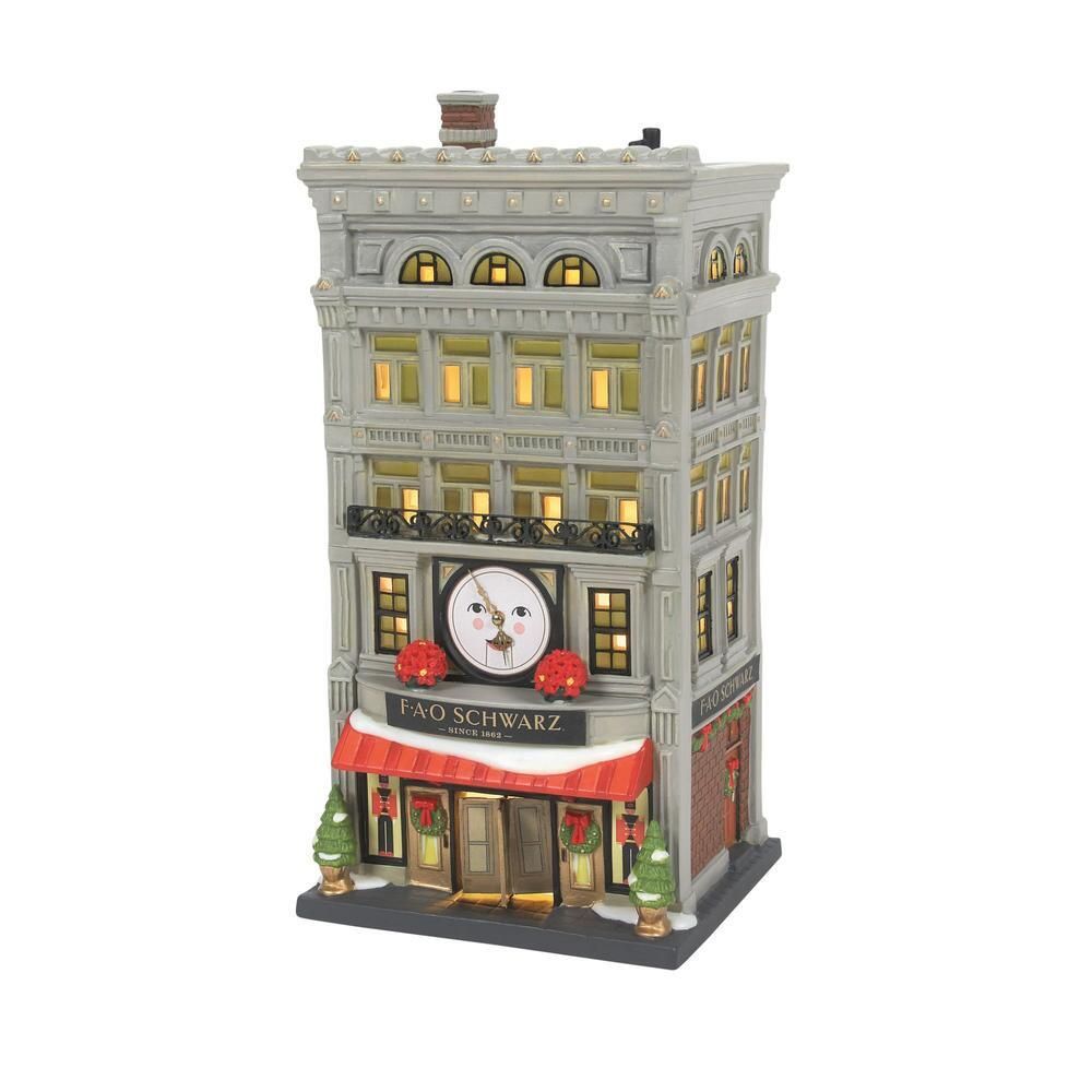 Department 56 Christmas in the City - FAO Schwarz 2021
