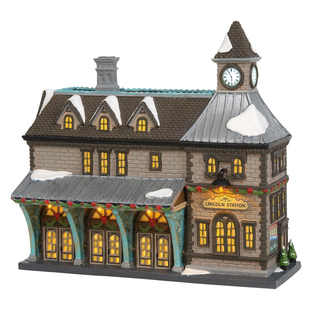 Department 56 Christmas in the City - Lincoln Station 2019