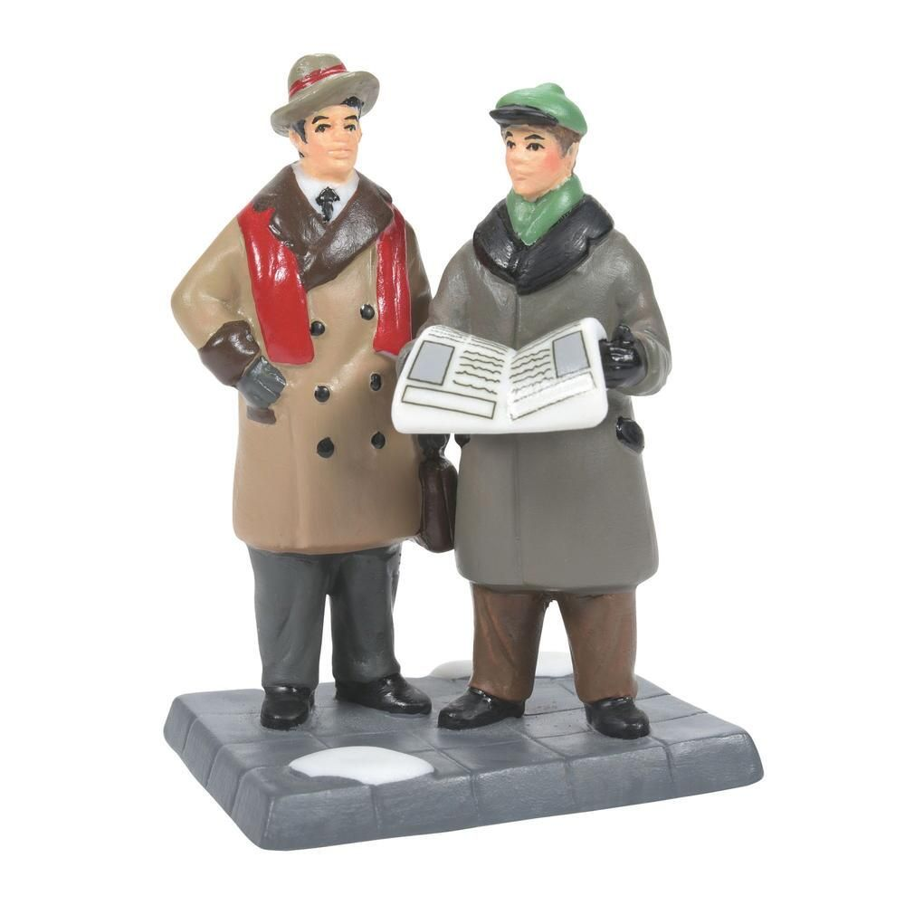 Department 56 Christmas in the City Accessory - Breaking News 2021