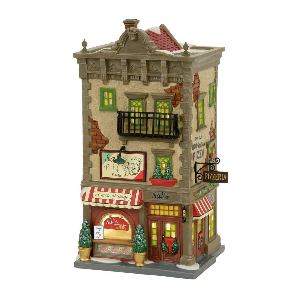Department 56 Christmas in the City - Sals Pizza & Pasta 2017