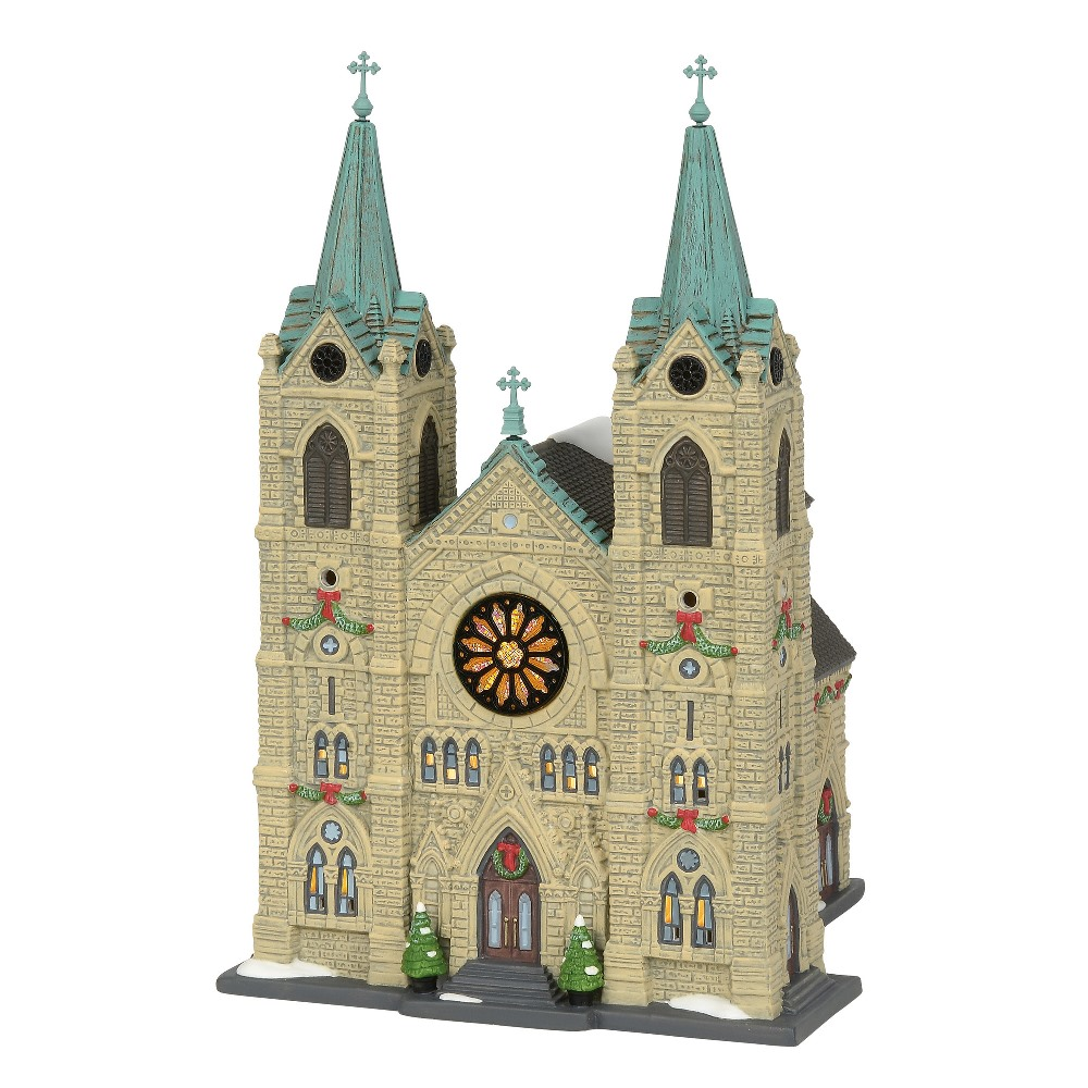 Department 56 Christmas in the City - St. Thomas Cathedral 2019