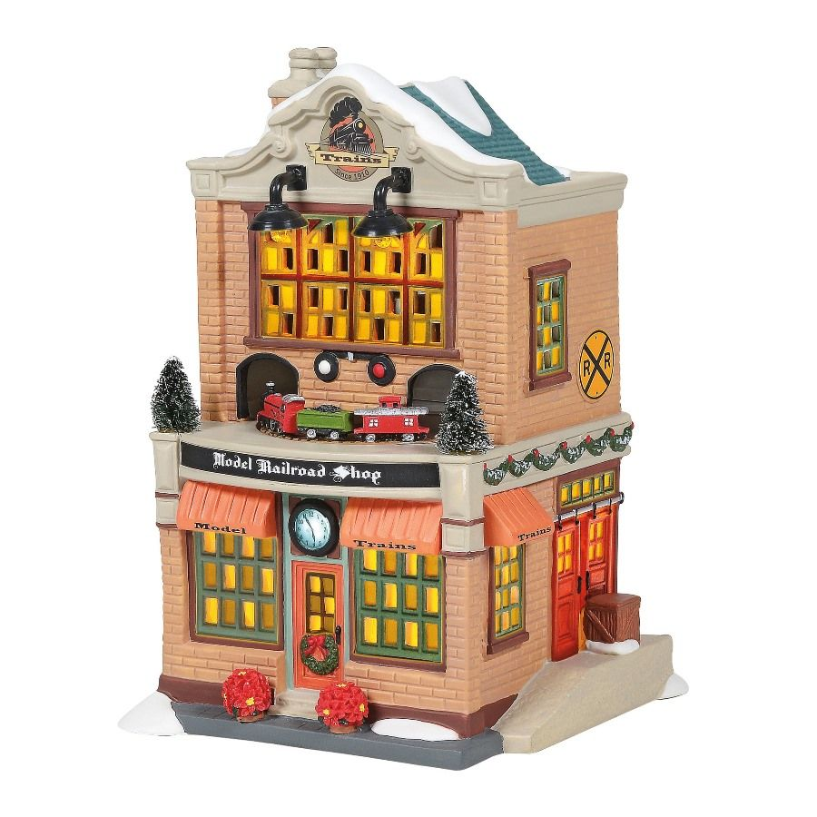 Department 56 Christmas in the City - Model Railroad Shop 2020