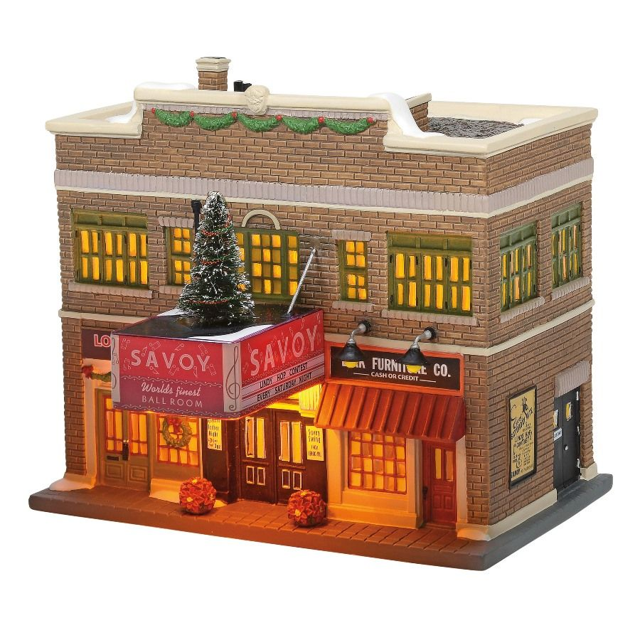 Department 56 Christmas in the City - The Savoy Ballroom 2020