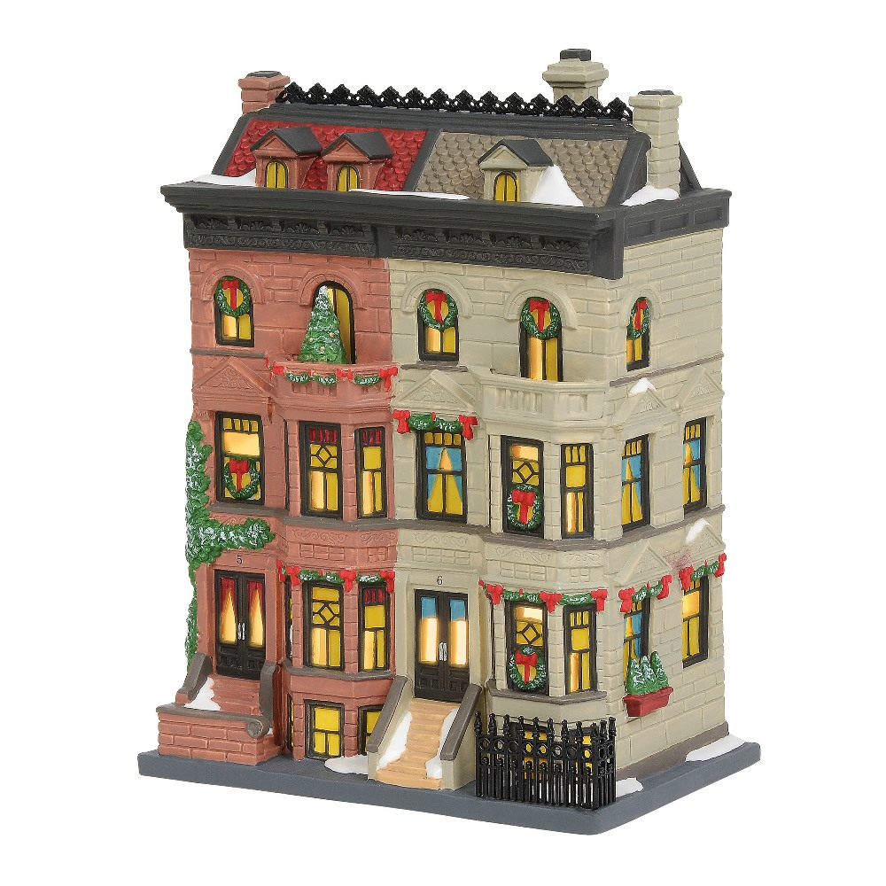 Department 56 Christmas in the City - Upper Westside Brownstones 2019
