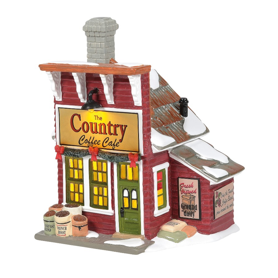Department 56 Country Living Village - Country Coffee Caf�