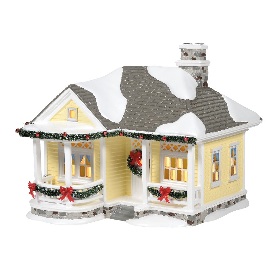 Department 56 Country Living Village - Morning Dew Cottage