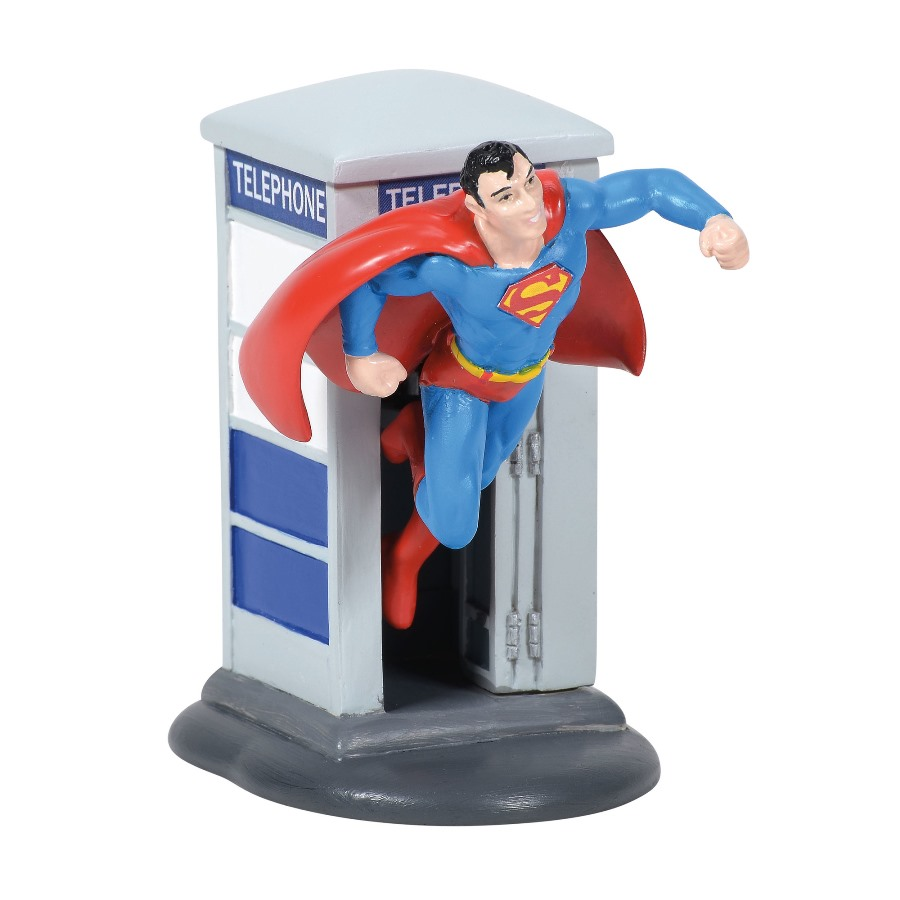 Department 56 DC Comics Village - Superman 2020