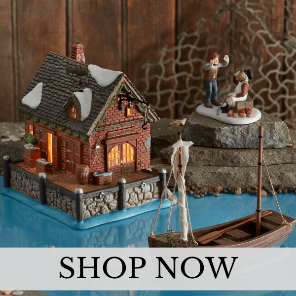 Department 56 - Dickens Village - Christmas Village Set
