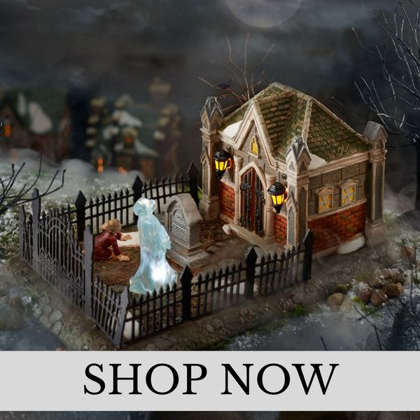 Department 56 - A Christmas Carol - Christmas Village Set