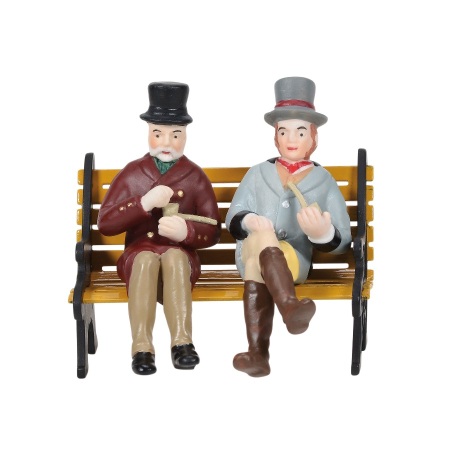 Department 56 Dickens Village Accessory - A Relaxing Smoke 2020