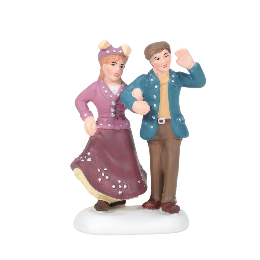 Department 56 Dickens Village Accessory - A True Cockney Couple 2020