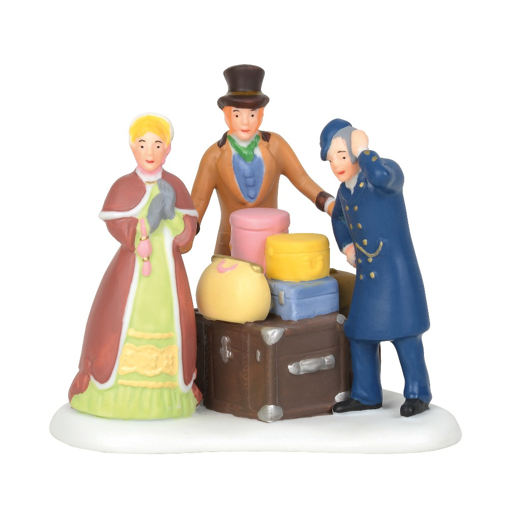 Department 56 Dickens Village Accessory - Continental Tour or London 2019