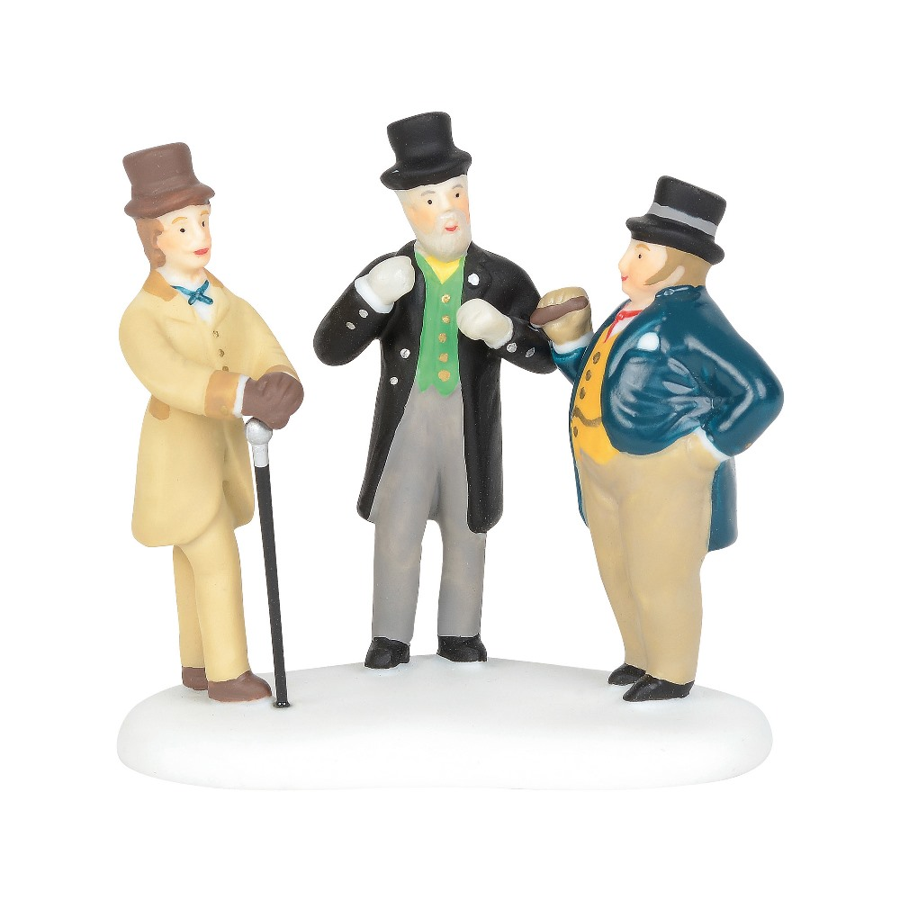 Department 56 Dickens Village Accessory - Cornhill Bankers 2019