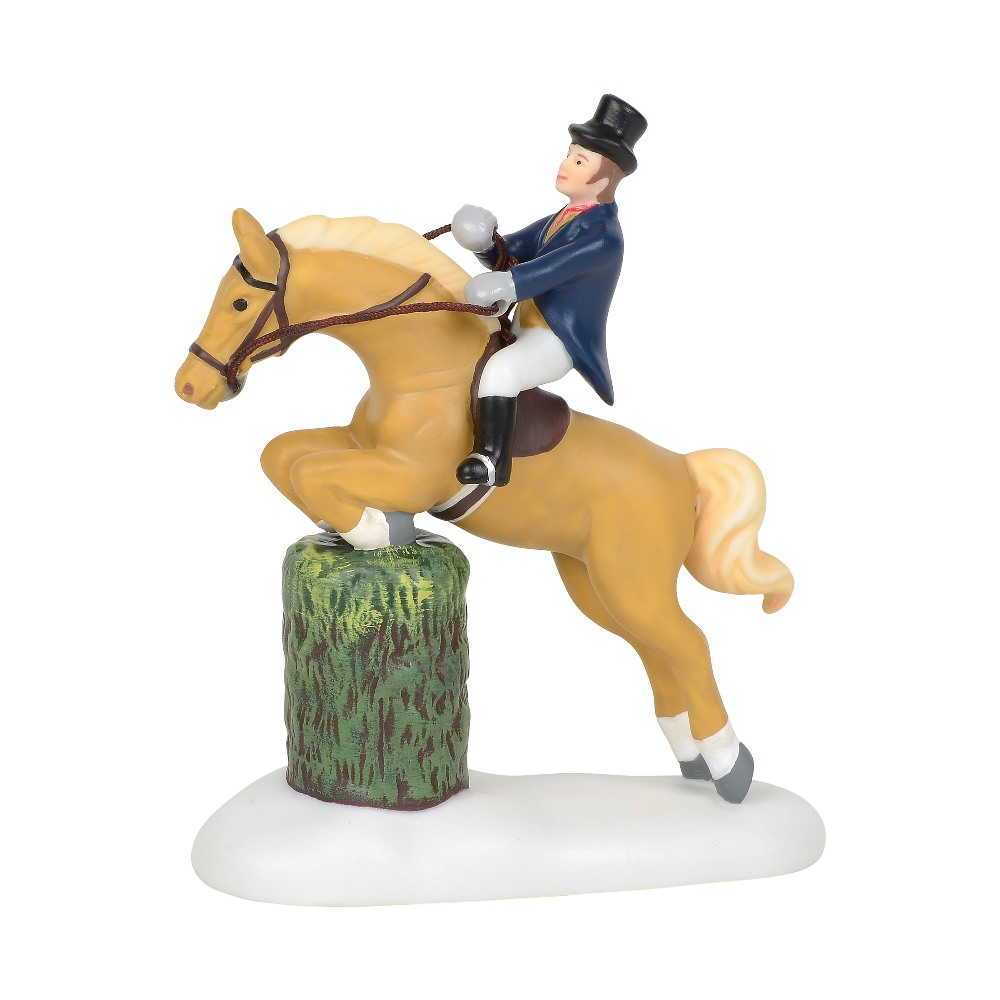 Department 56 Dickens Village Accessory - Victorian Jumping Show 2019