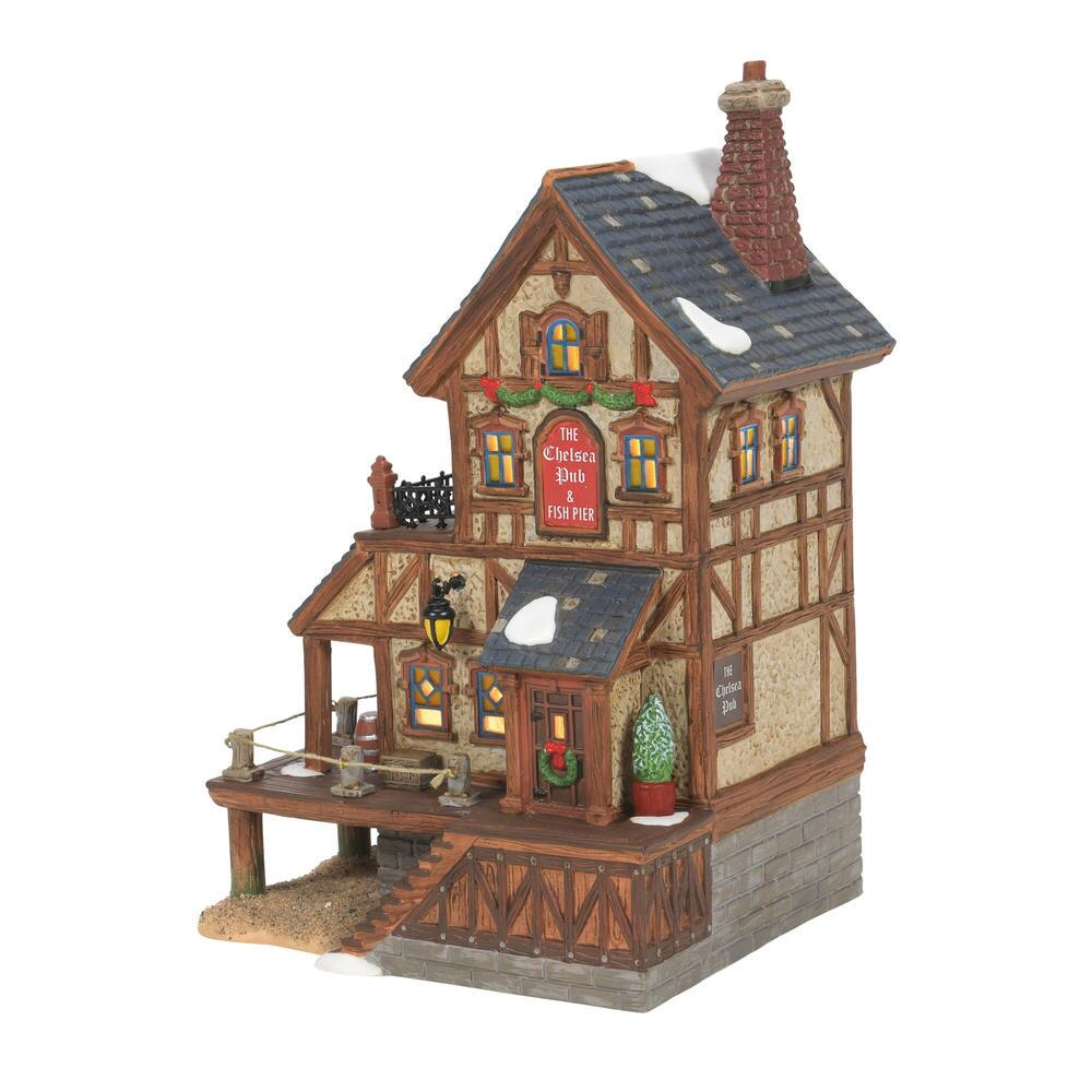 Department 56 Dickens Village - Chelsea On the Thames Pub 2021