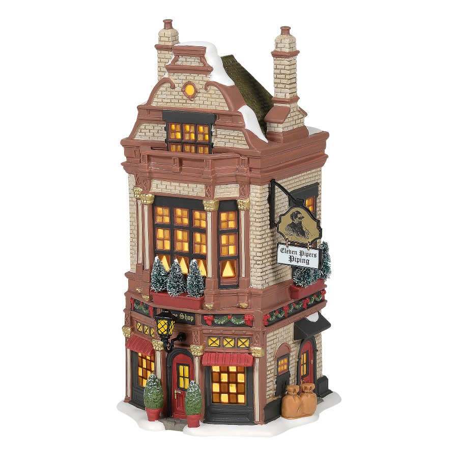 Department 56 Dickens Village - Eleven Pipers Piping Shop 2020