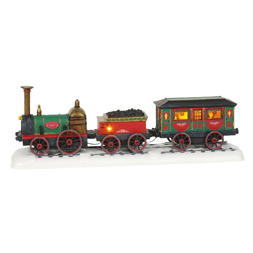 Department 56 Dickens Village - Emerald Express Train 2019