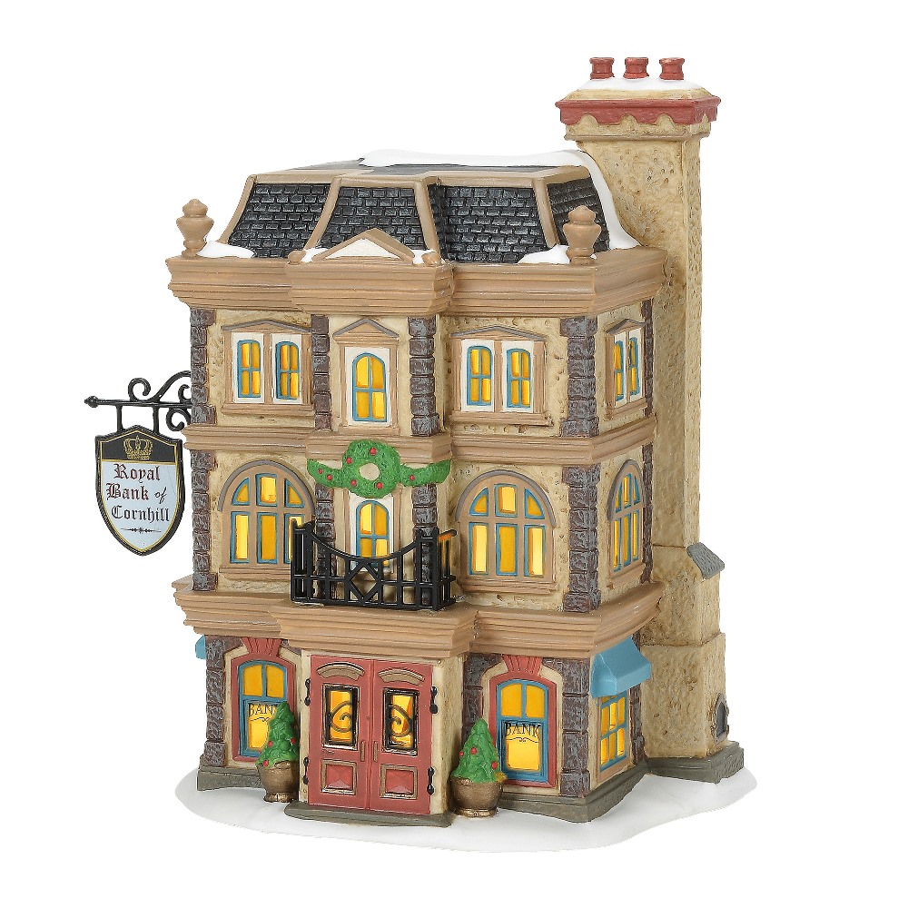 Department 56 Dickens Village - Royal Bank of Cornhill 2019