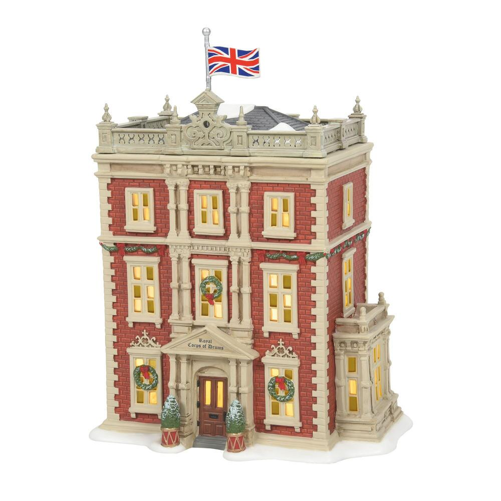 Department 56 Dickens Village - Royal Corps of Drums 2021