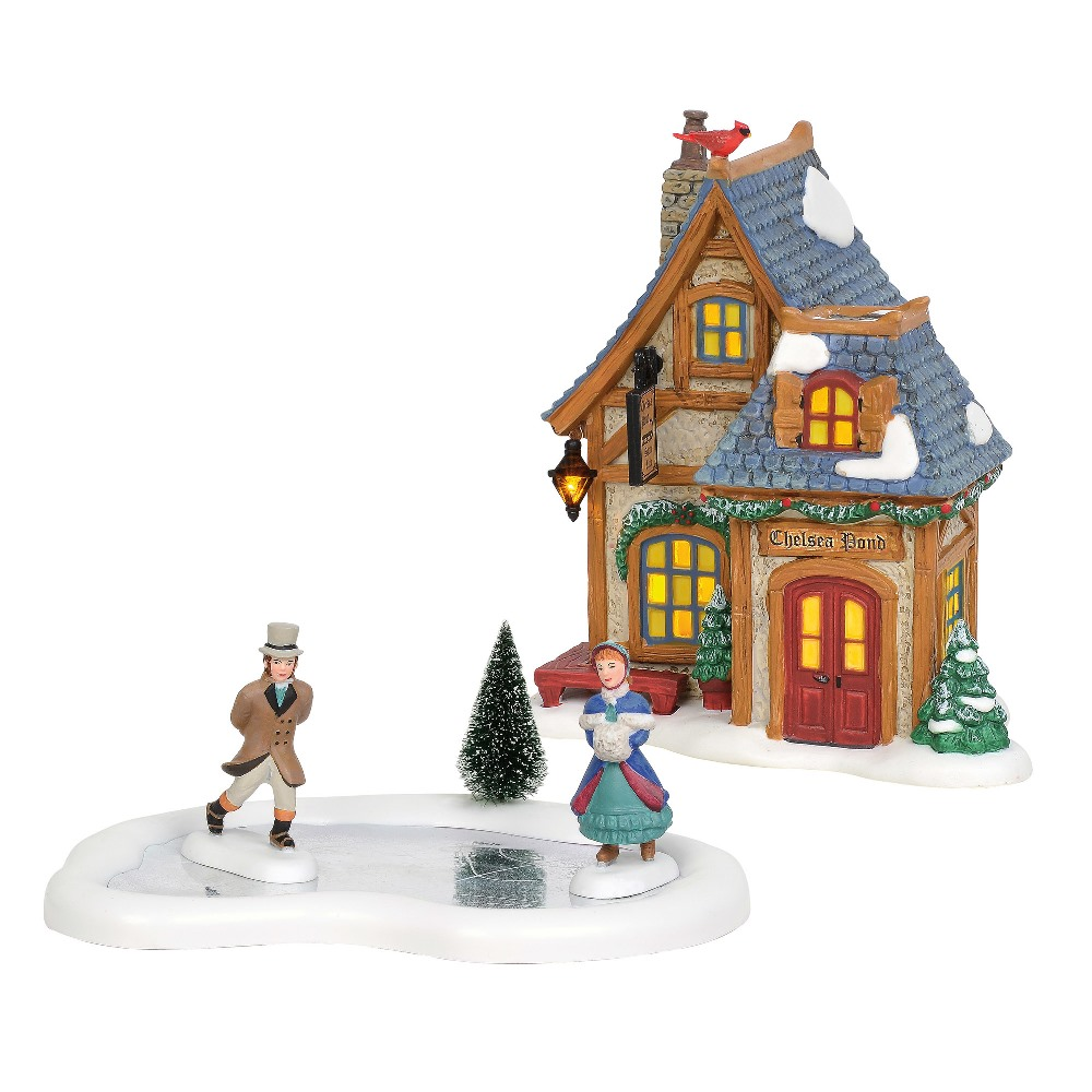 Department 56 Dickens Village - Skating Party Gift Set 2019