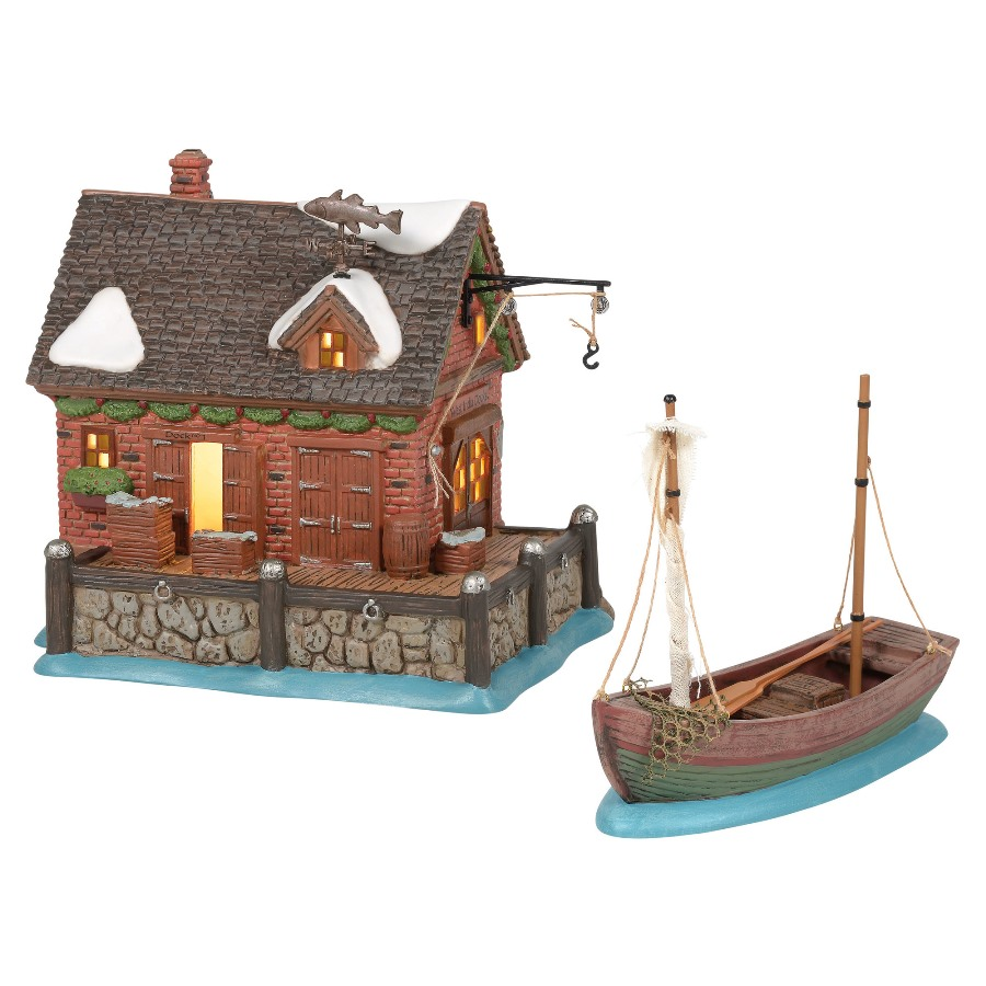 Department 56 Dickens Village - West India Docks 2020
