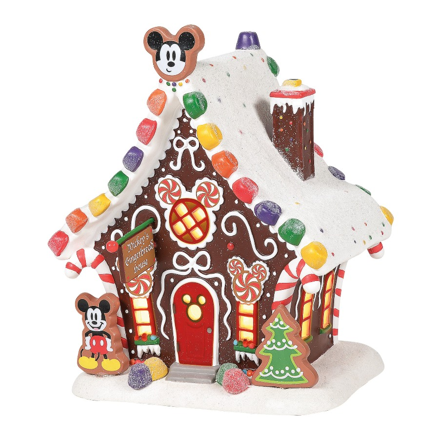Department 56 Disney Village - Mickeys Gingerbread House 2020