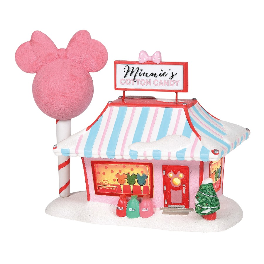 Department 56 Disney Village - Minnies Cotton Candy Shop 2020